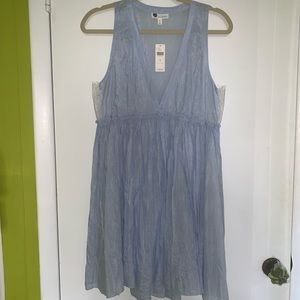NEW WITH TAGS Anthropologie Blue Dress